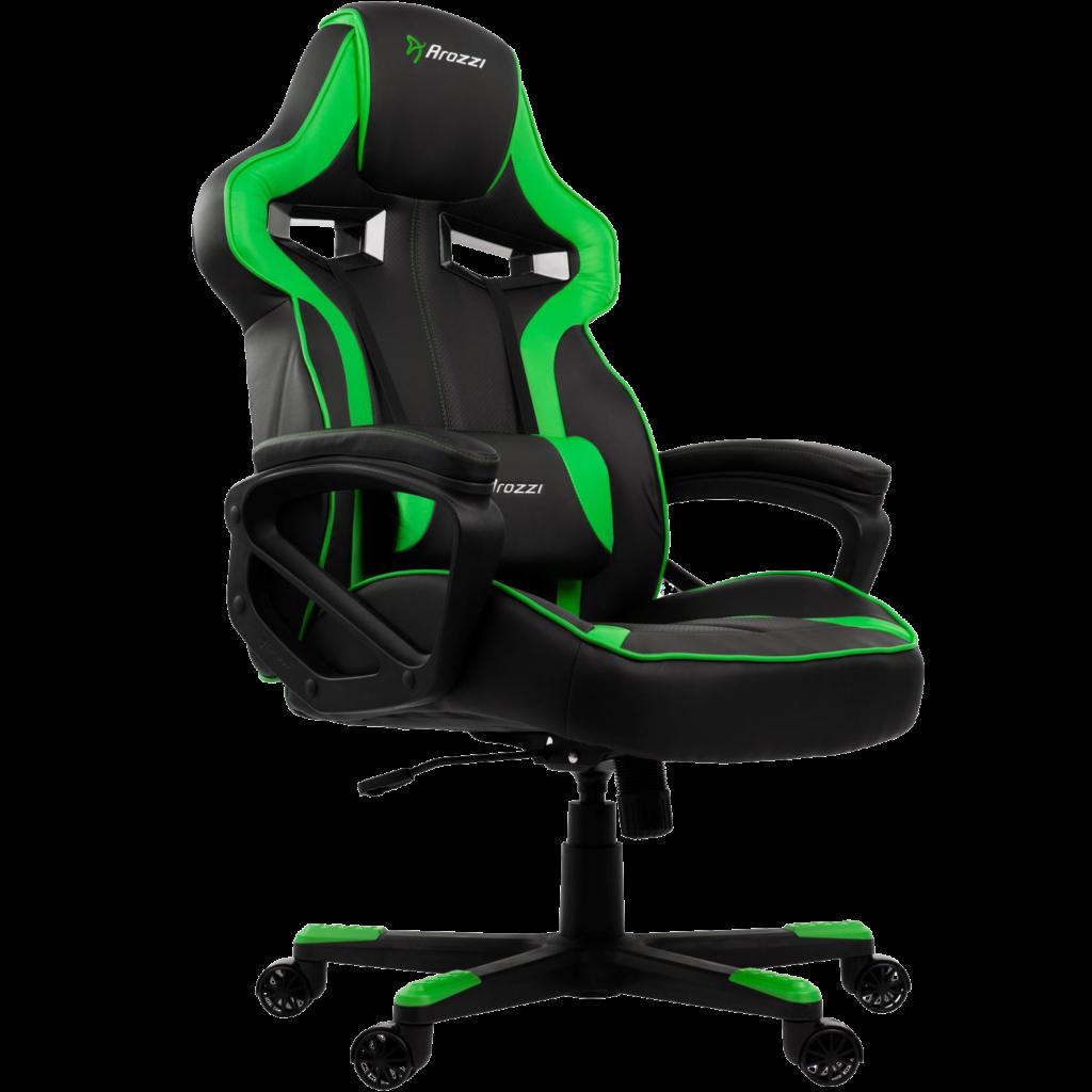 grøn gamer stol