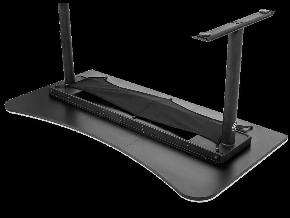 kabelstyring under bordet på arozzi arena gamer bord
