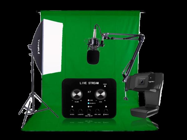 Mega Livestreaming udstyrspakke