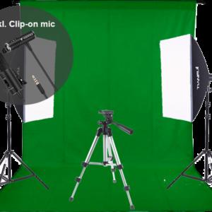 Youtuber udstyrspakke