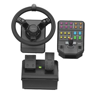 945-000062 spil-controller Rat + Pedaler Analog/digital Sort