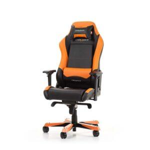 DXRacer IRON I11-NO Kontor Stol - Sort / Orange - PU Læder - Op til 130 kg