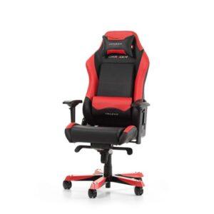 DXRacer IRON I11-NR Kontor Stol - Sort / Rød - PU Læder - Op til 130 kg