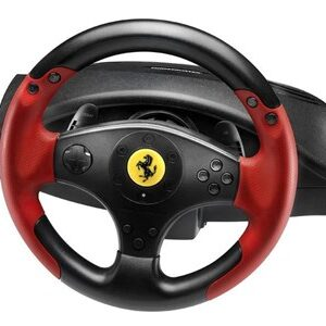 Ferrari Racing Wheel Red Legend PS3&PC Rat + Pedaler PC,Playstation 3 Sort, Rød
