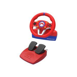 HORI Mario Kart Racing Wheel Pro Mini - Rat & Pedal sæt - Nintendo Switch