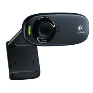 Logitech C310 HD Webcam Refresh - Black