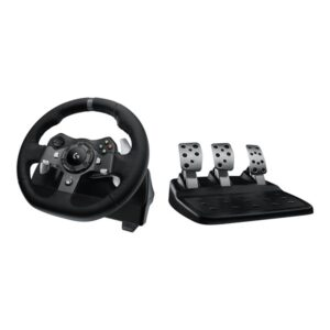 Logitech G920 Driving Force (Xbox One) - Rat & Pedal sæt - Microsoft Xbox One