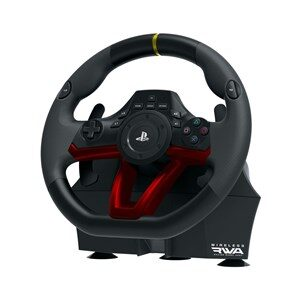Racing Wheel APEX Rat + Pedaler PC,PlayStation 4 Analog/digital Bluetooth/USB Sort, Rød