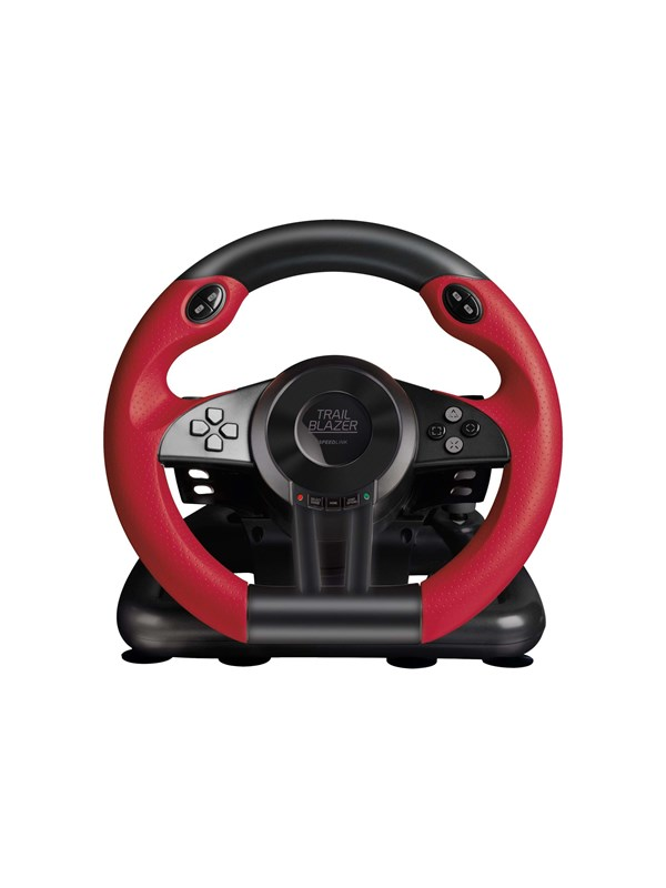 Speed-Link SPEEDLINK TRAILBLAZER Racing Wheel - Rat & Pedal sæt - Sony PlayStation 3