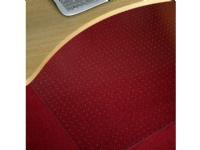 Stoleunderlag 120x150 cm Ecoline 2,3mm Polykarbonat med pigge m/lige kant (piglængde 4mm)