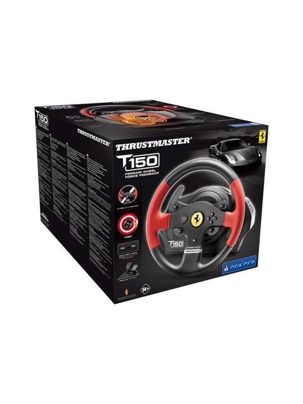 Thrustmaster T150 Ferrari Edition - Rat & Pedal sæt - Sony PlayStation 4