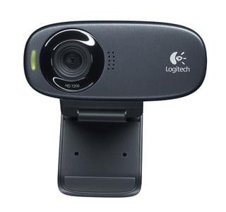 C310 webcam 5 MP 1280 x 720 pixel USB Sort