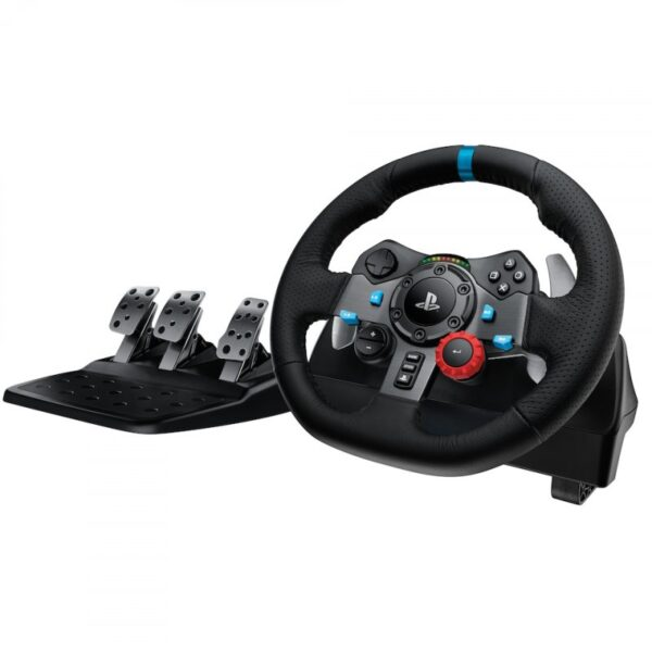 Logitech G29 Driving Force Rat Og Pedaler Til Ps3 / Ps4