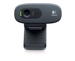 C270 webcam 3 MP 1280 x 720 pixel USB 2.0 Sort