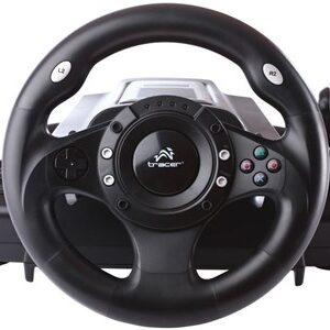 Drifter Rat + Pedaler PC,Playstation 2,Playstation 3 Digital USB 2.0 Sort