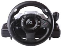 Tracer Drifter - Sæt med rat, pedaler og håndtag til gearskifte - kabling - for Sony PlayStation 2, PC, Sony PlayStation 3