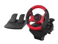 Natec Genesis SEABORG 300, Rat + Pedaler, PC, Digital, 180°, Ledningsført, USB