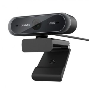 Gear4u Webcam - Focus - Fuld Hd