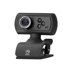Marvo USB Webcam med Mikrofon HD720P