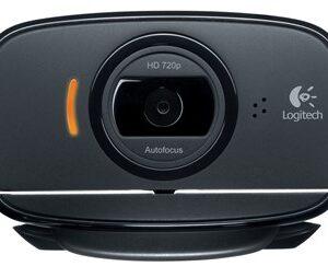 C525 webcam 8 MP 1280 x 720 pixel USB 2.0 Sort