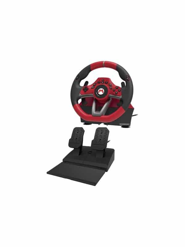 HORI Mario Kart Racing Wheel Pro Deluxe - Rat Pedal st - Nintendo Switch