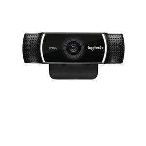 Webcam Logitech C922 HD 1080p Streaming Tripod Sort
